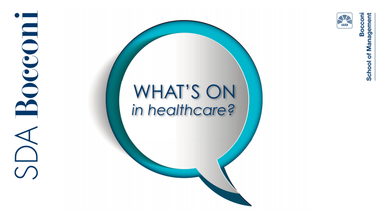 What's on in healthcare?